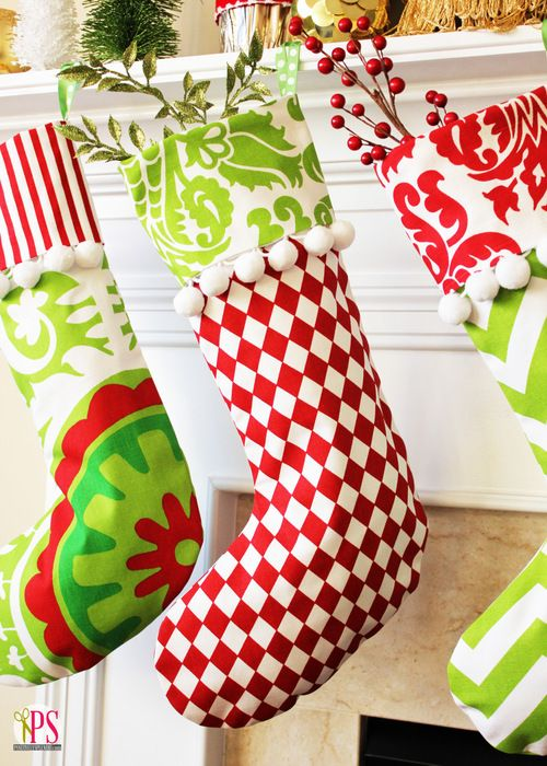 18 unique christmas stockings best diy ideas for holiday stockings - Pictures Of Decorated Christmas Stockings