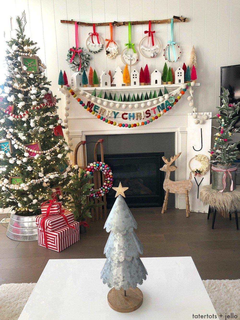 78 DIY Christmas Decorations , Homemade Christmas Decor Ideas