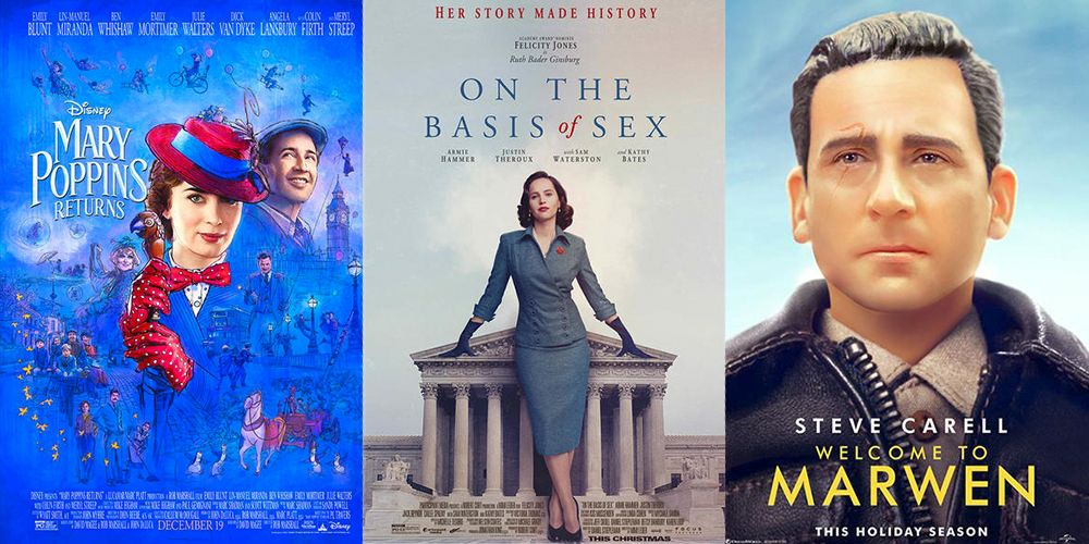 9 Best Movies Playing on Christmas Day 2018 - Top December Movie ...