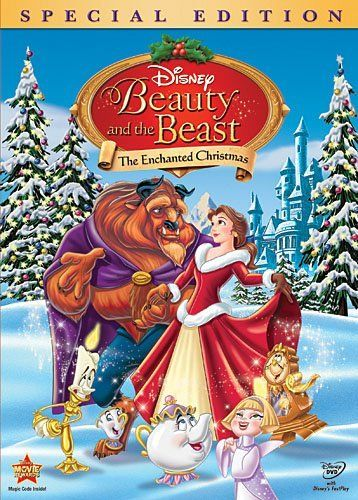 disney christmas movies beauty and the beast the enchanted christmas