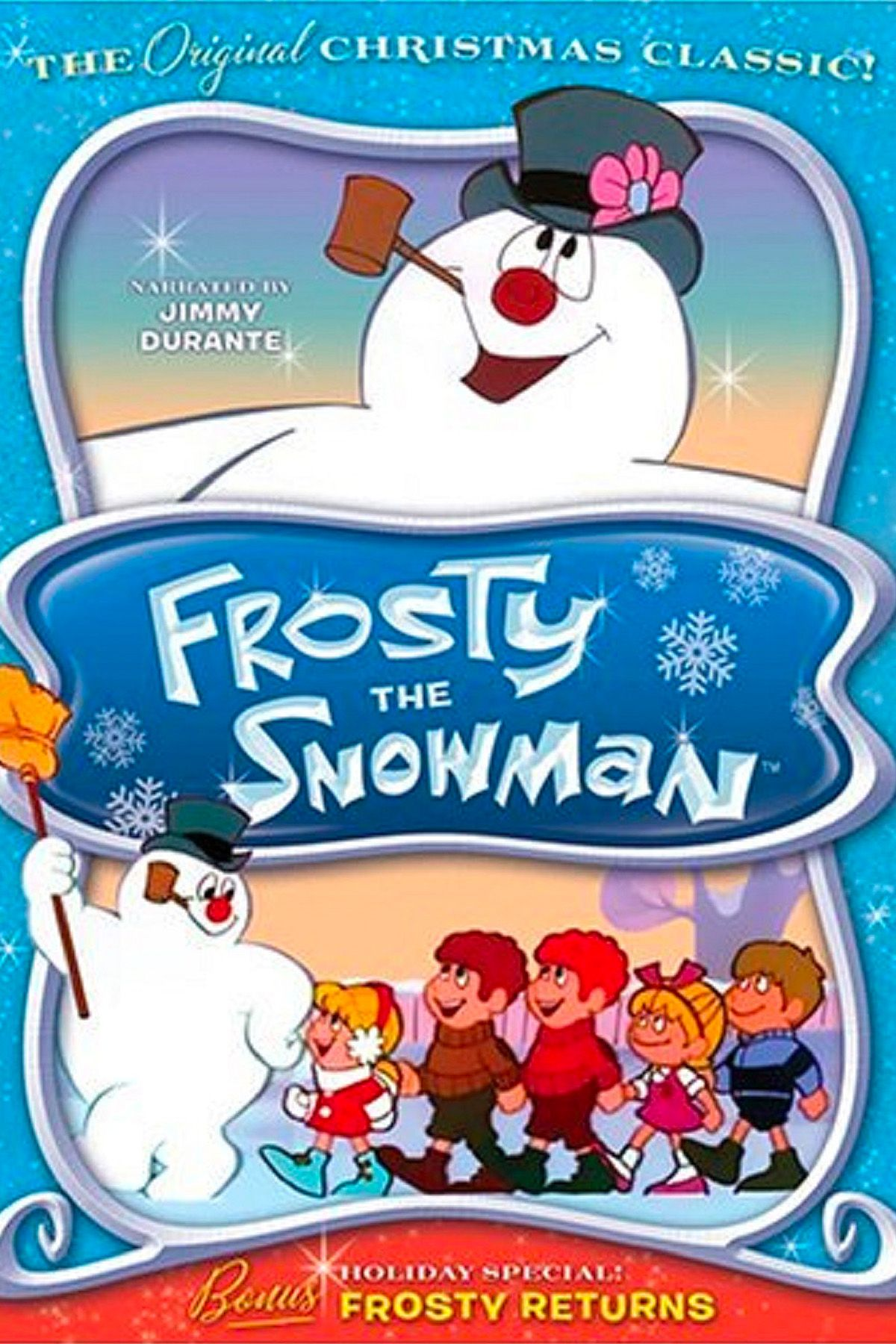 christmas movies for kids frosty the snowman