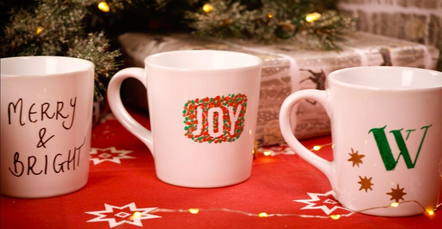 How To Make Your Own Christmas Mugs
