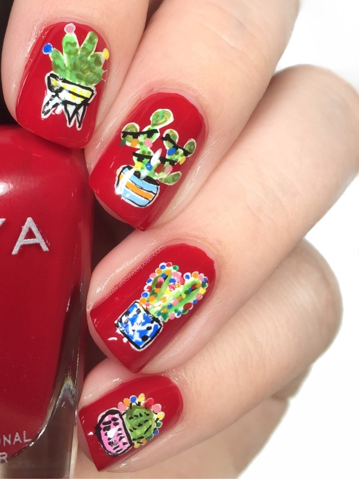- 22 Best Christmas Nail Art Design Ideas 2018 - Easy Holiday Nails