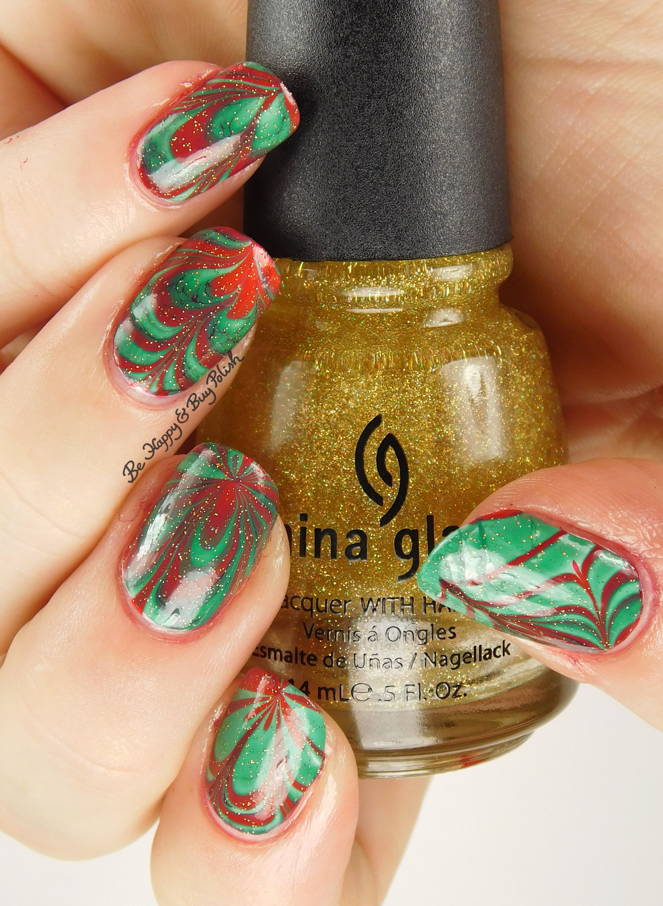27 Best Christmas Nail Art Design Ideas 2018 , Festive