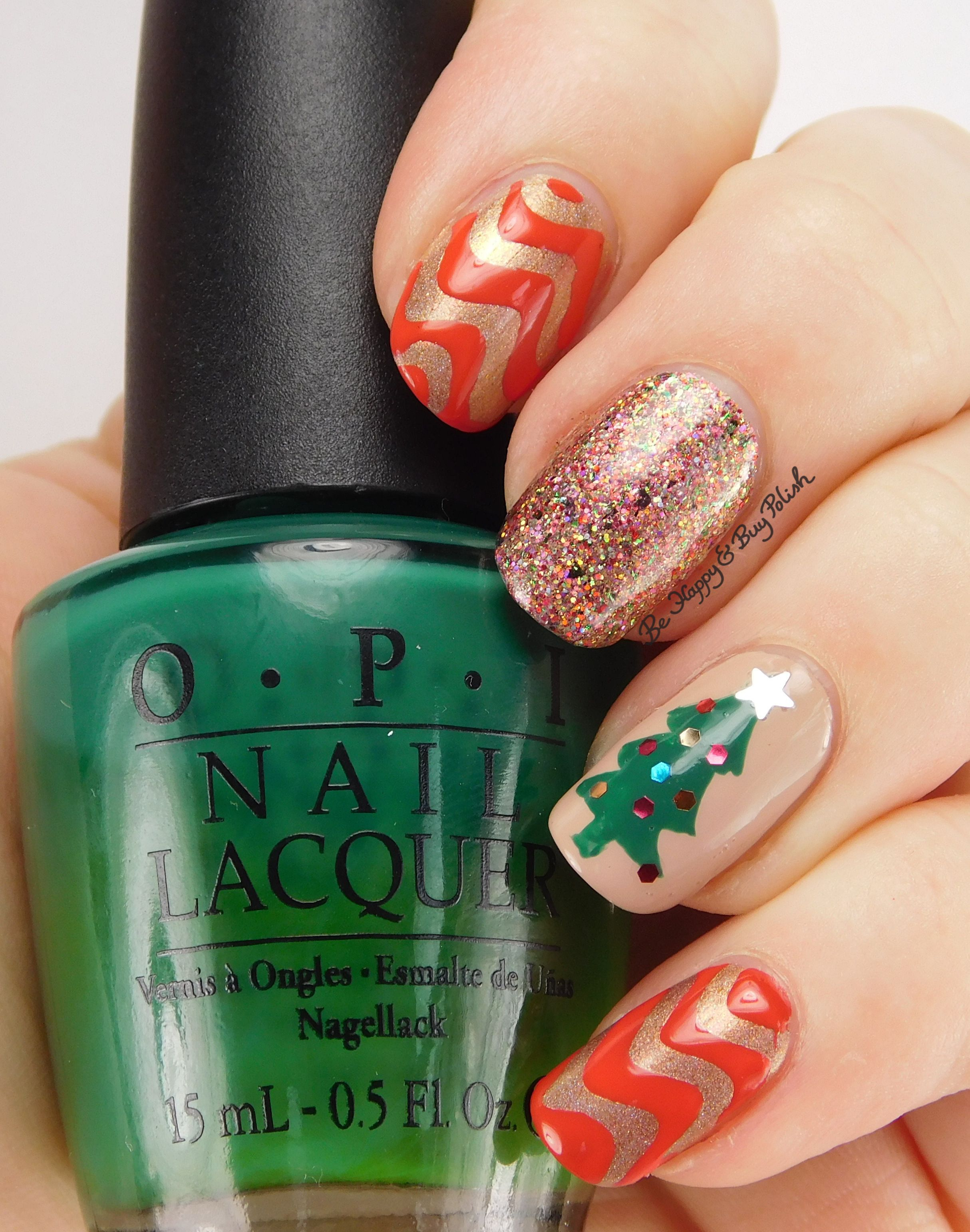 22 Best Christmas Nail Art Design Ideas 2018 - Easy Holiday Nails