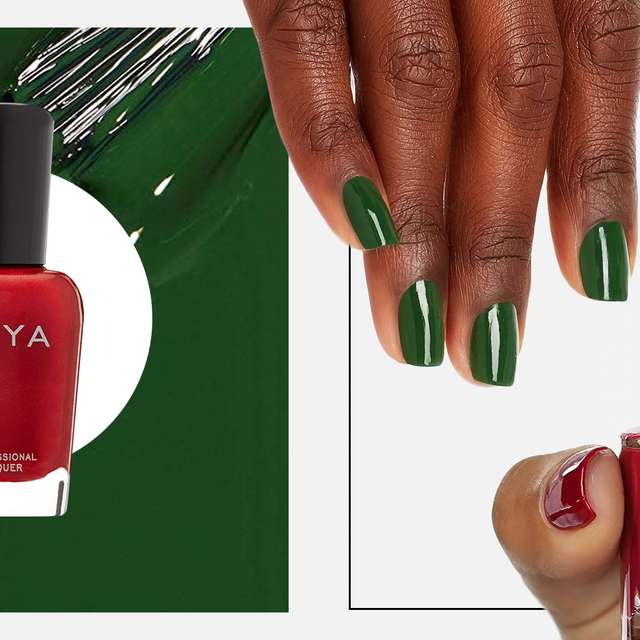 12 Best Christmas Nail Colors 2019 Festive Nail Polishes