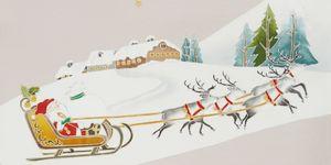 クリスマス柄の帯