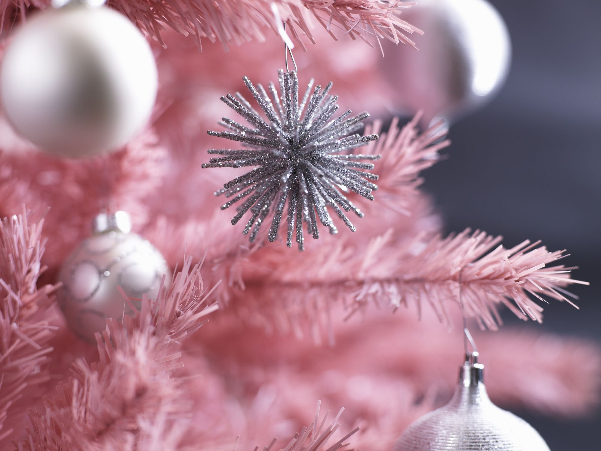 We Re Dreaming Of A Pink Christmas With These 3 Mini Pink Trees At Target