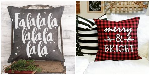 christmas pillow covers - Christmas Decorative Pillow Covers