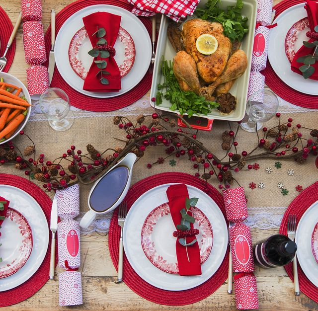 Christmas Garland Paper Placemats