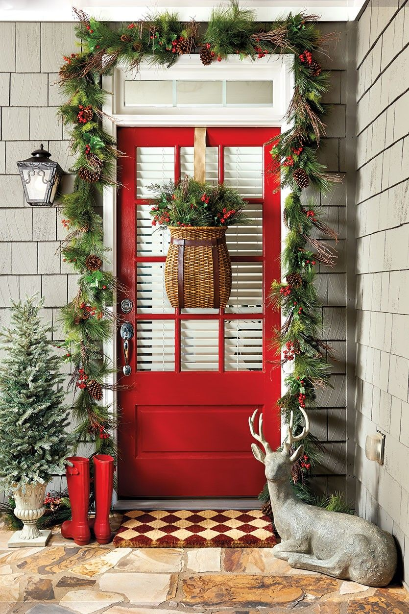 15 christmas porch decorations outdoor christmas decor for the porch - Christmas Porch Decor