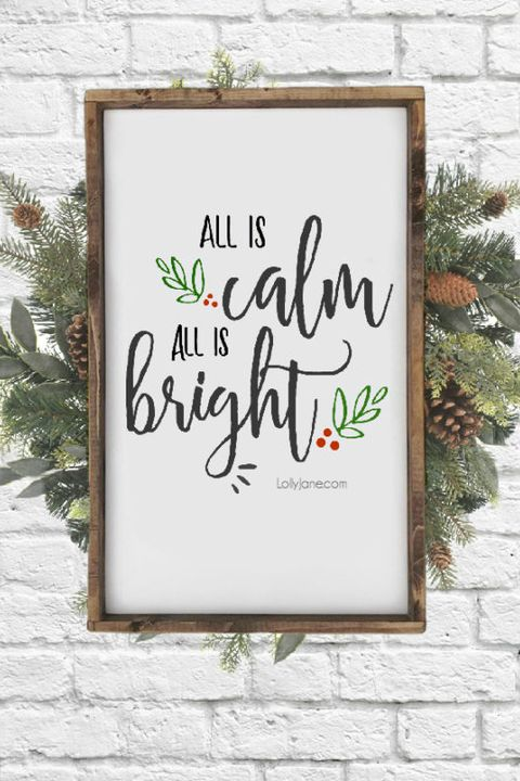 christmas printables sign