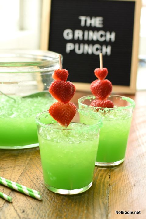 christmas punch grinch