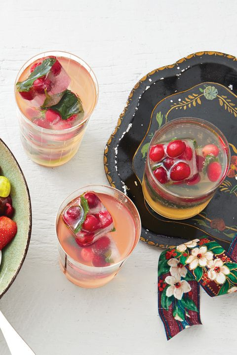 christmas punch recipes white grape punch with cranberry ice