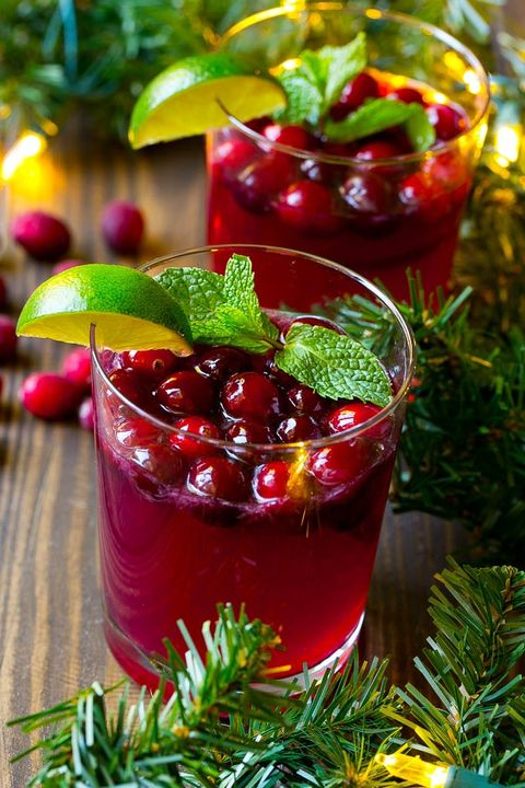 christmas punch winter drinks