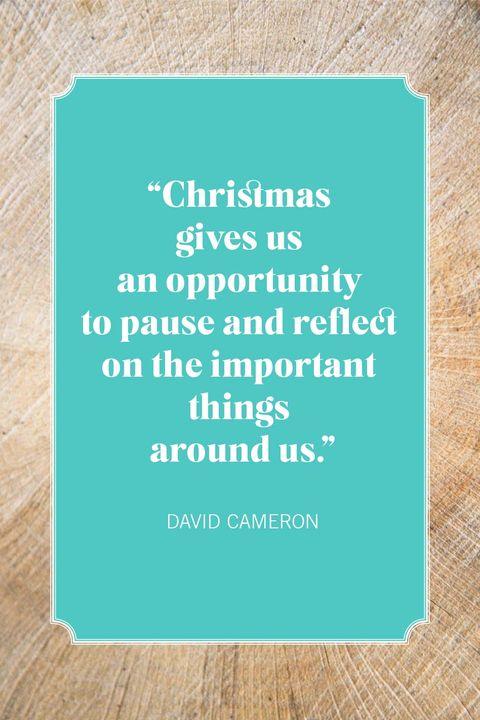christmas quotes david cameron