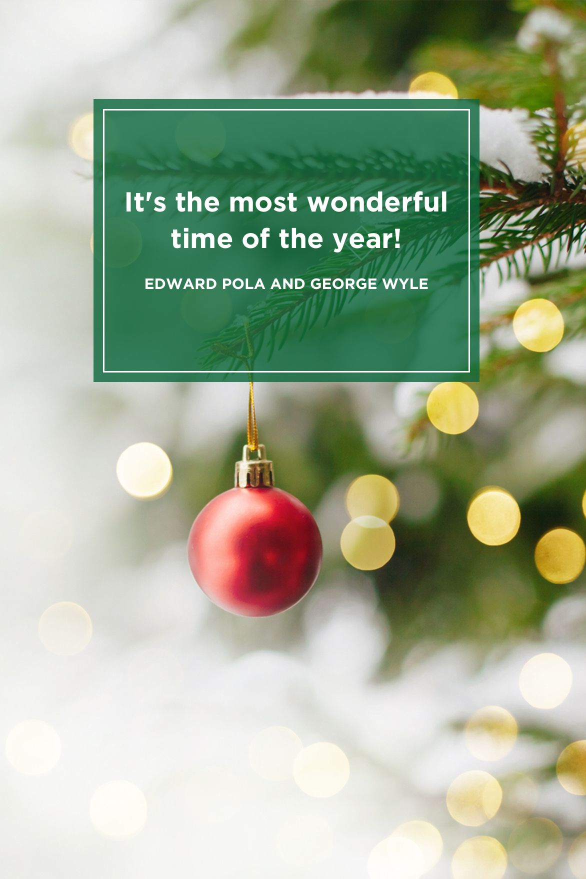 75 Best Christmas Quotes - Most Inspiring & Festive Holiday Sayings