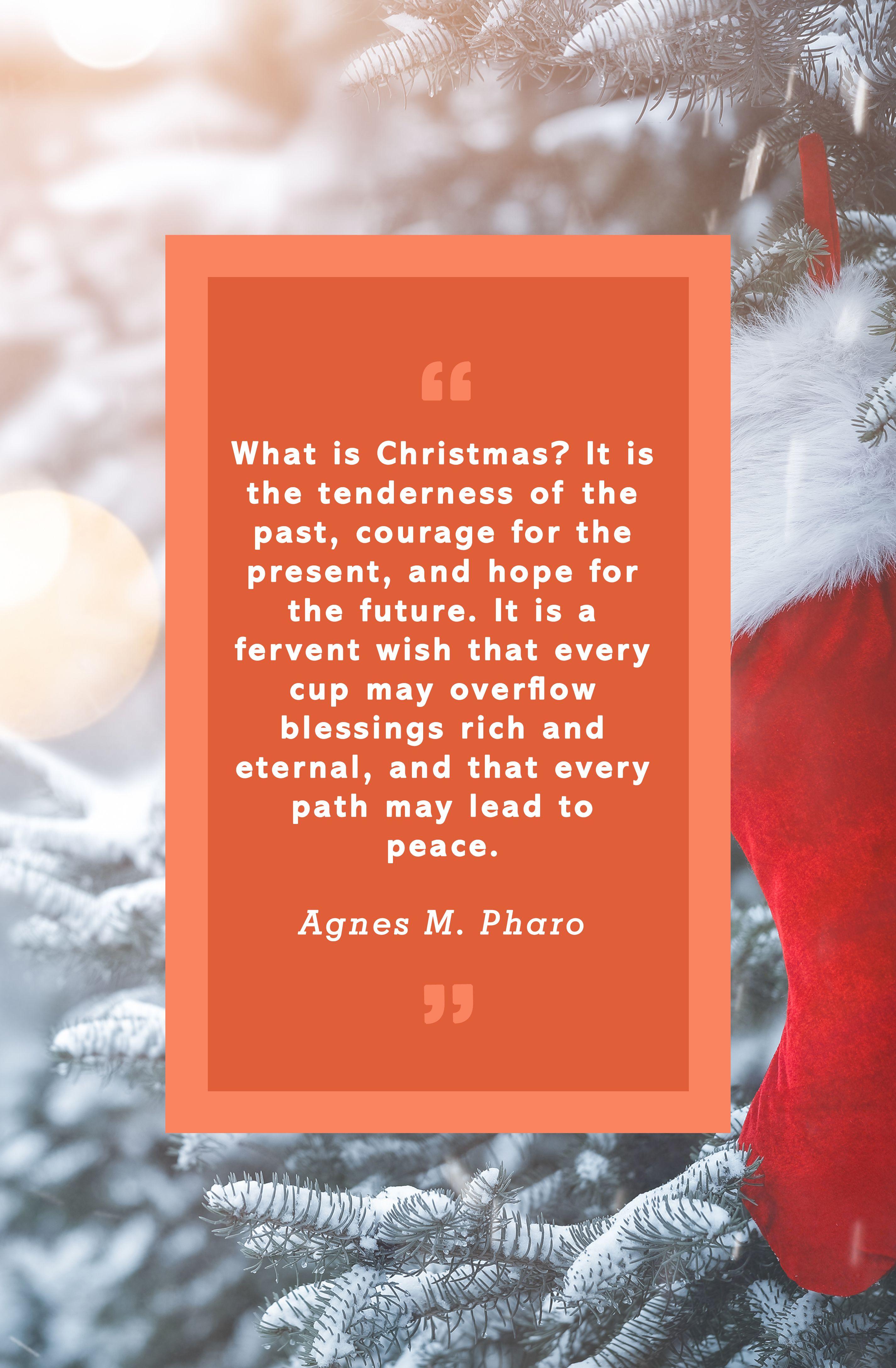 Christmas Quotes Agnes ...