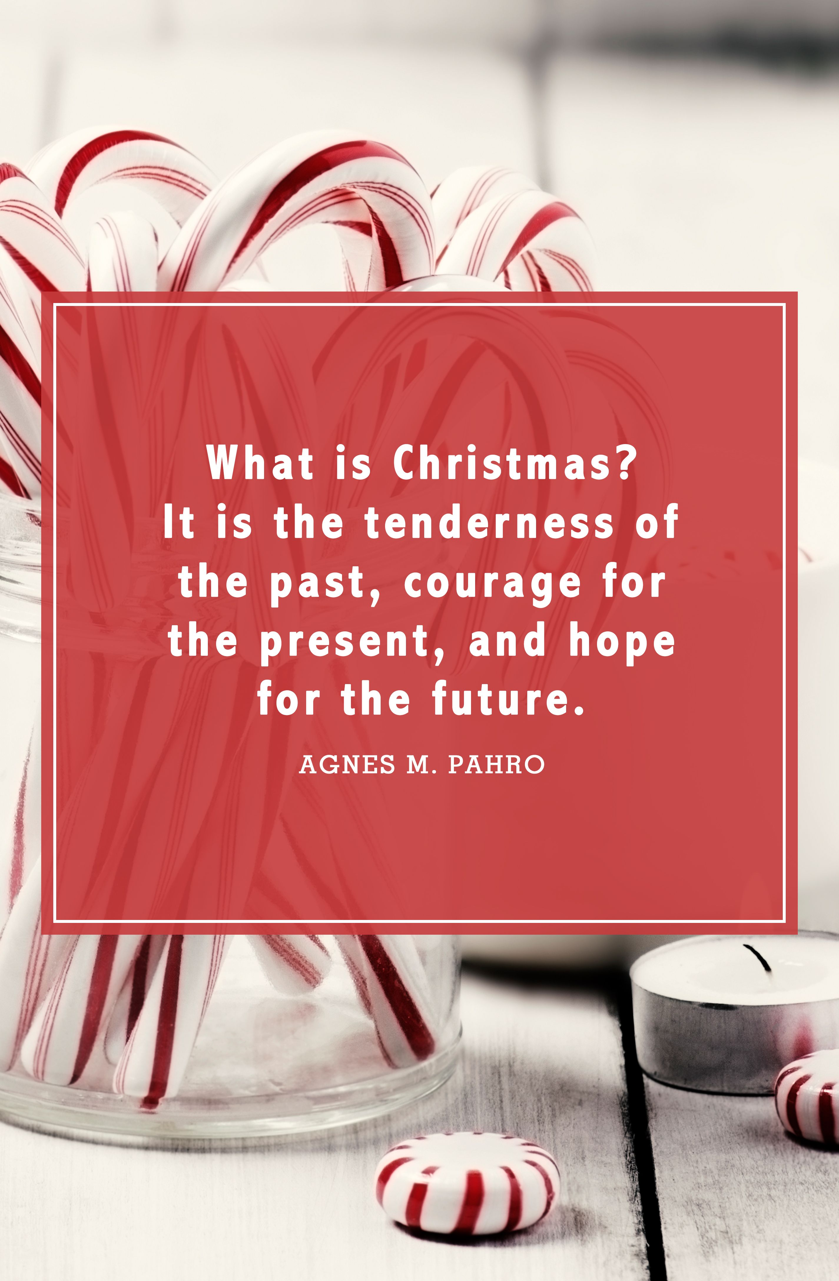 christmas quotes agnes m. pahro