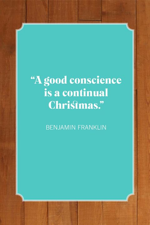 ben franklin christmas quotes