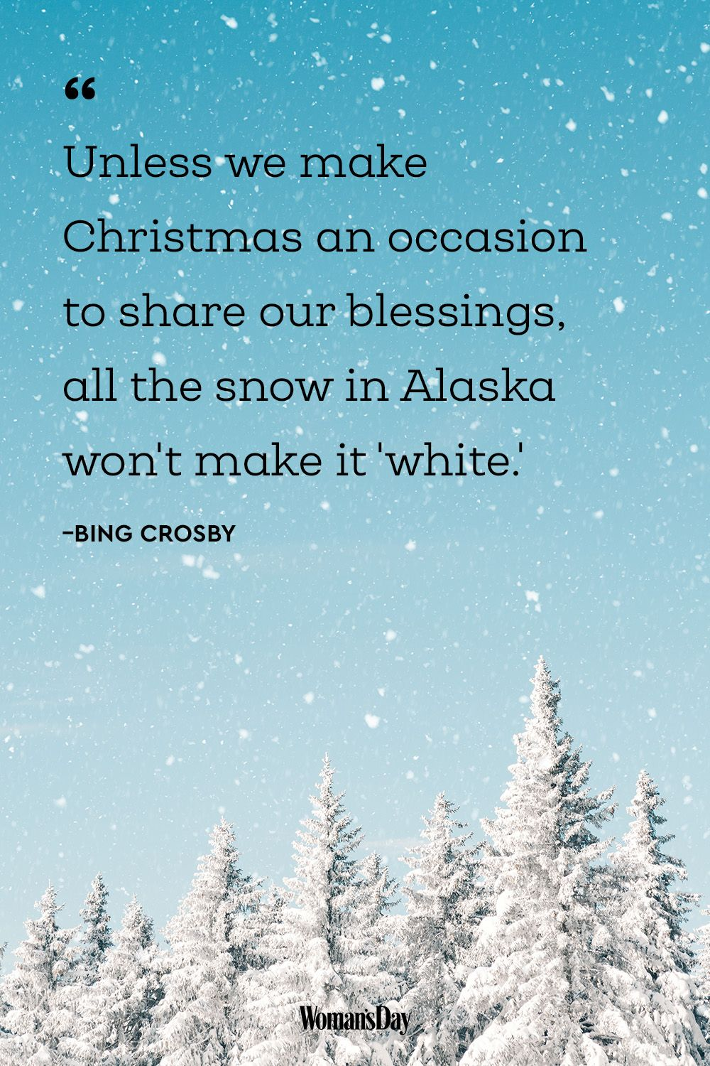 christmas quotes bing crosby