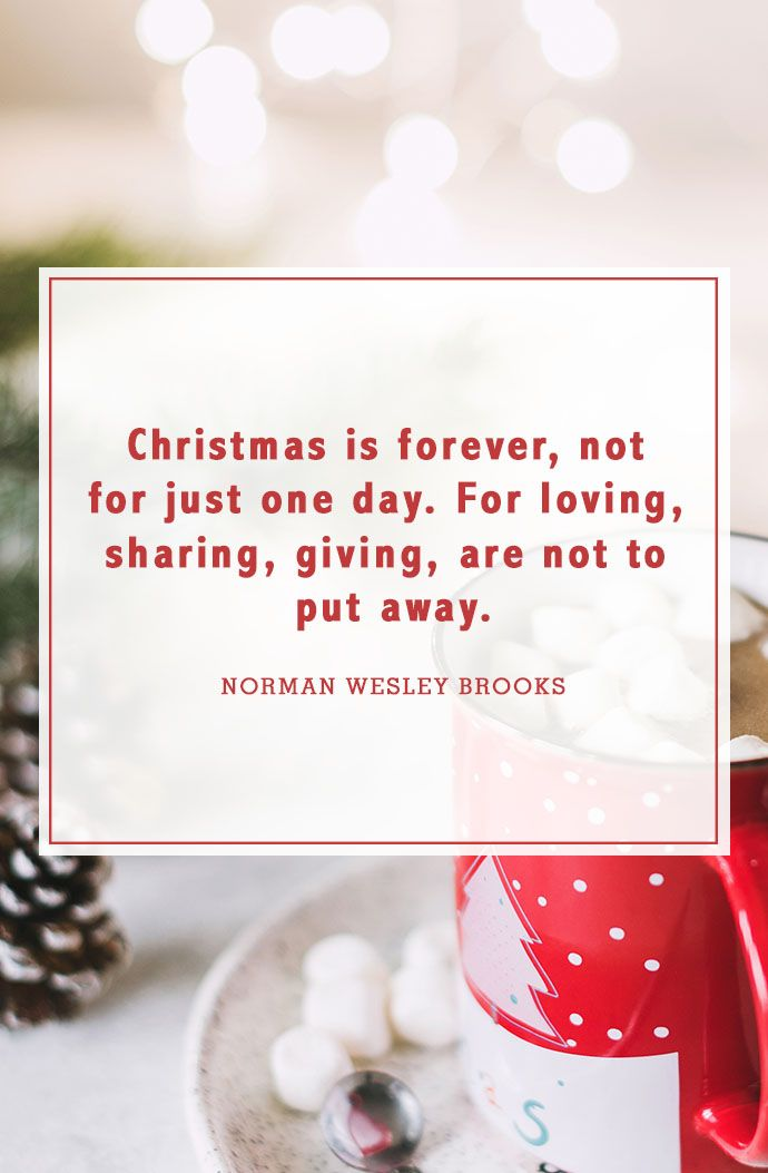 christmas quotes norman wesley brooks