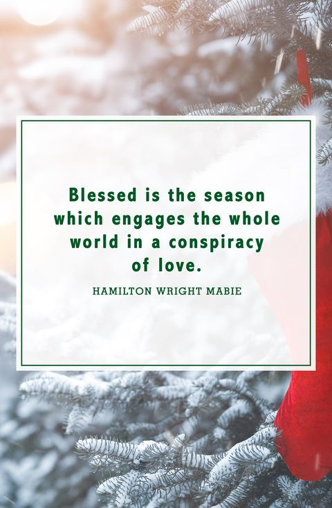 christmas quotes hamilton wright mabie
