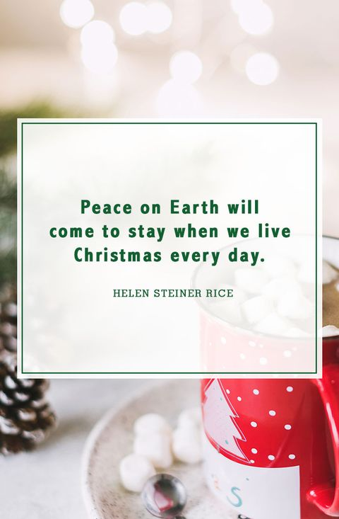Peace Christmas Quotes.52 Best Christmas Quotes Most Inspiring Festive Holiday