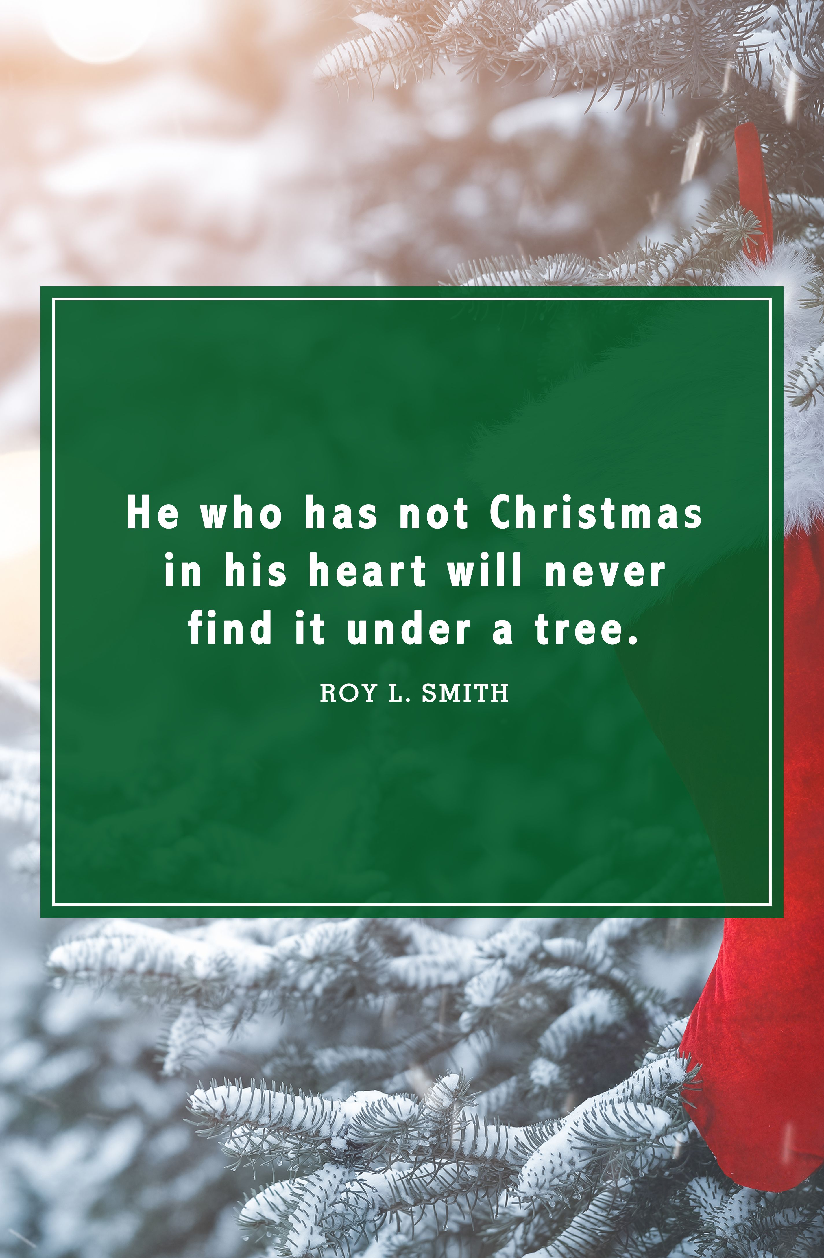 christmas quotes roy l. smith