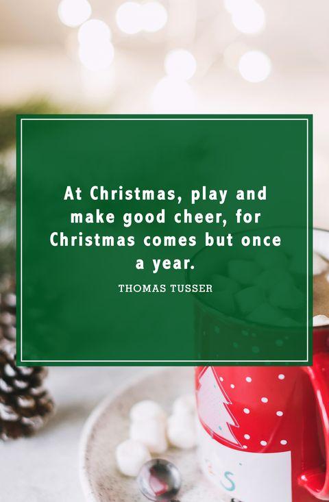 christmas quotes thomas tusser - Cute Christmas Captions