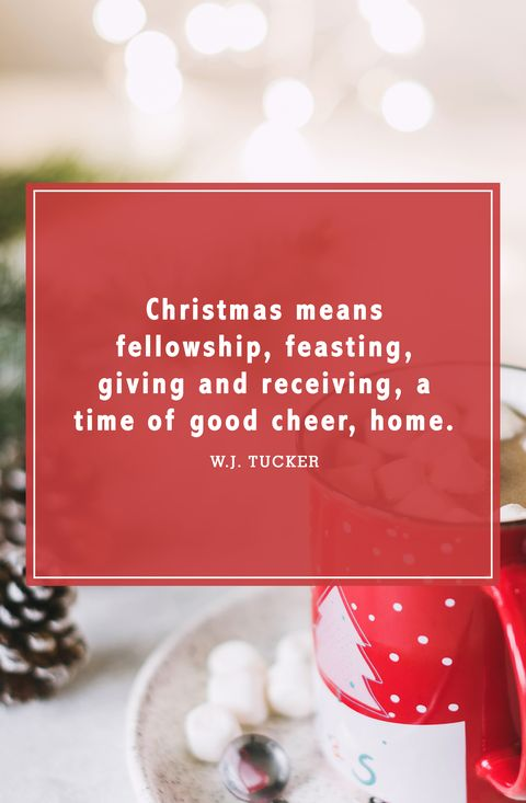 christmas quotes wj tucker - Christmas Decoration Quotes