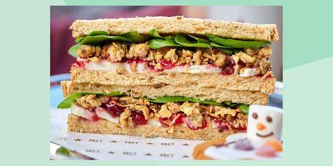 Food, Dish, Cuisine, Ingredient, Vegan nutrition, Sandwich, Tuna fish sandwich, Produce, Finger food, Baked goods,