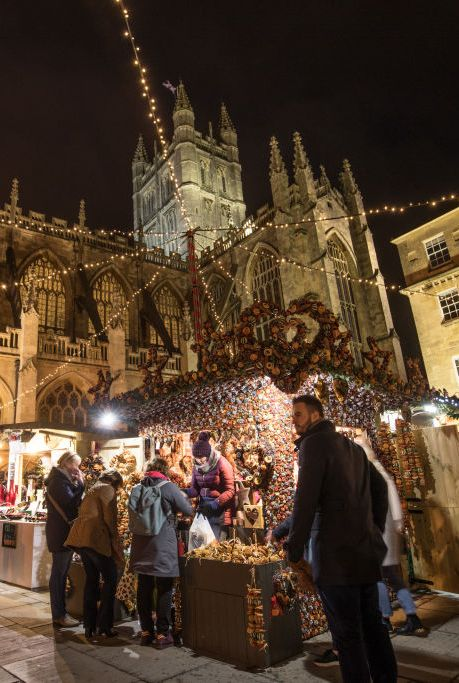 Bath Christmas Market Opens To The Public