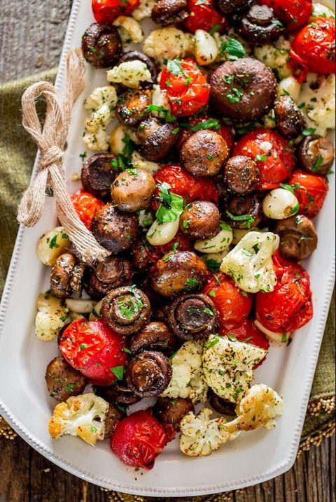 christmas side dishes mushrooms