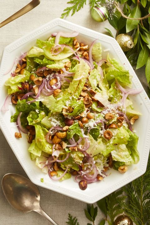romaine salad - christmas side dishes