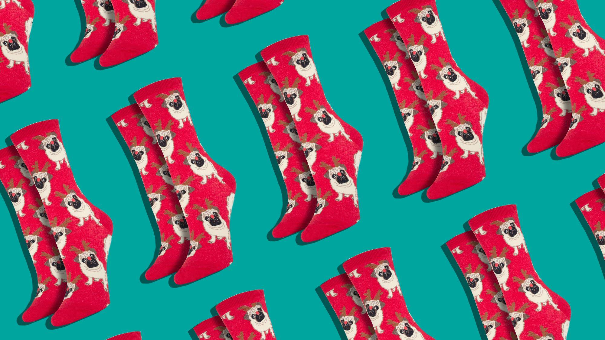 16 Best Christmas Socks for 2018 - Cute Holiday & Christmas Socks