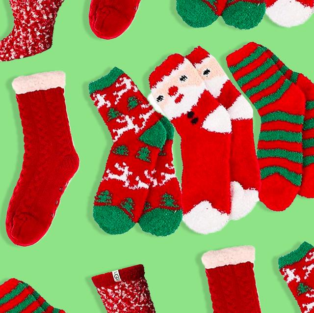Christmas Fuzzy Socks.20 Best Fuzzy Christmas Socks