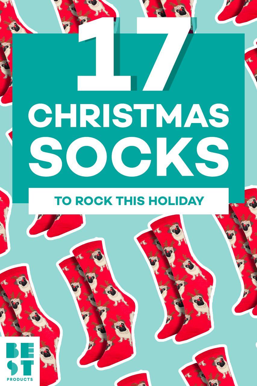 b622ce9d7 16 Best Christmas Socks for 2018 - Cute Holiday   Christmas Socks