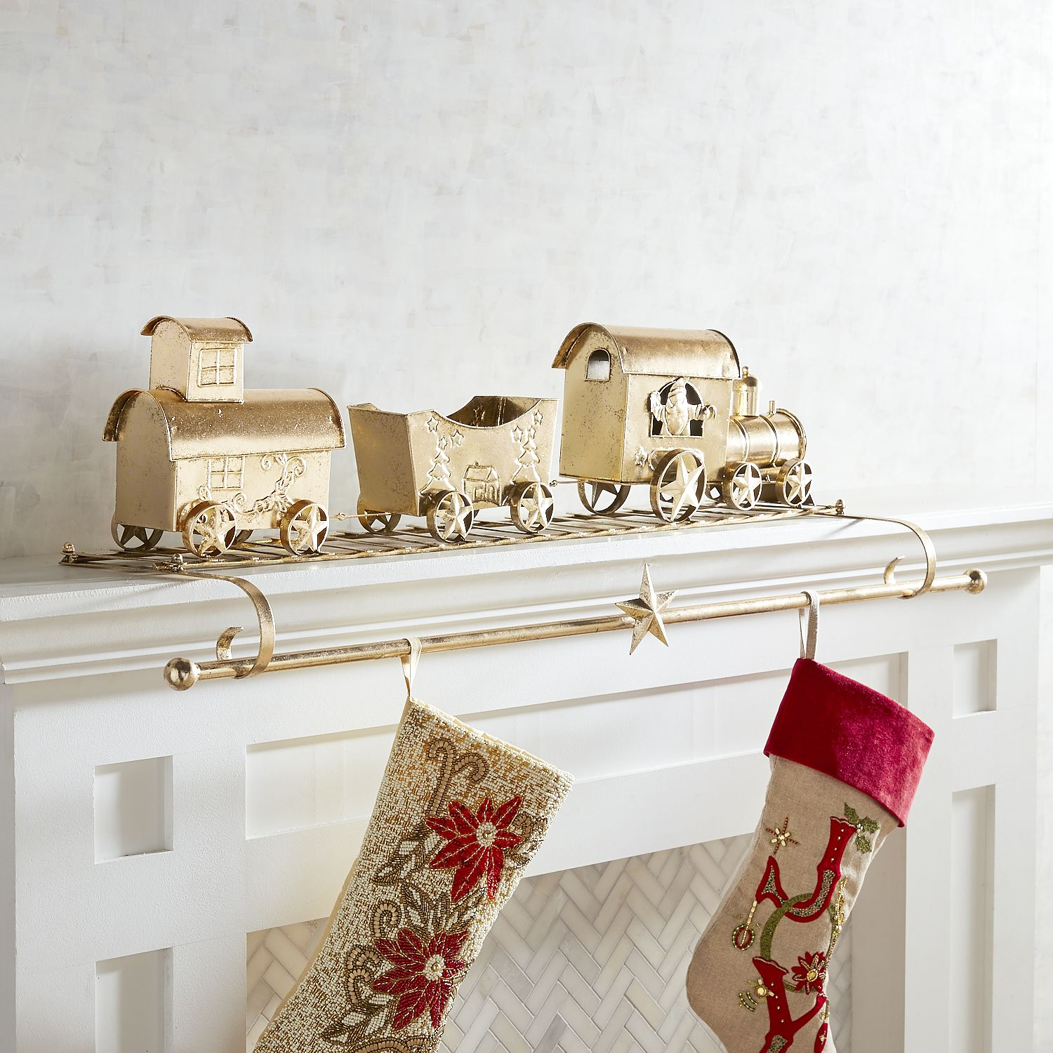 31 Best Christmas Stocking Holders - Stylish Christmas Decorations For  Stockings