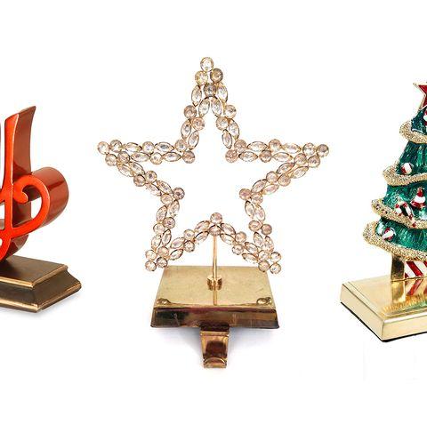 30 stylish christmas stocking holders for 2018 - Decorative Christmas Stocking Holders