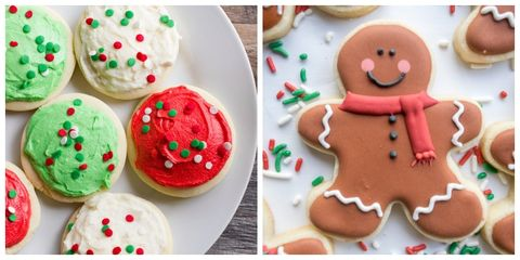 christmas sugar cookies - Decorated Christmas Sugar Cookies