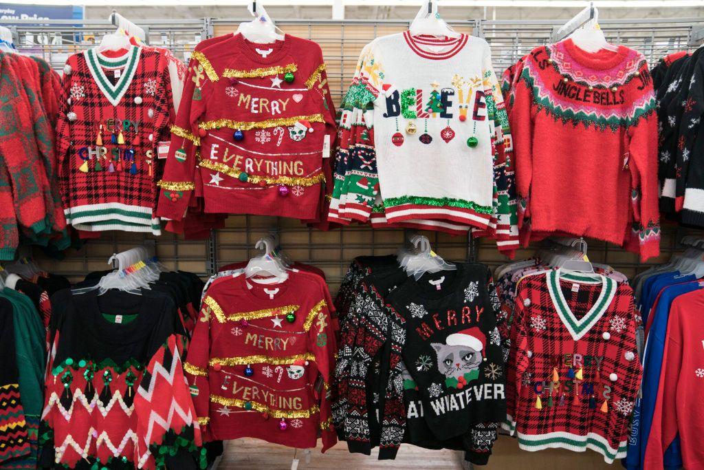 Walmart Apologizes For Christmas Sweater Of Santa Doing Cocaine