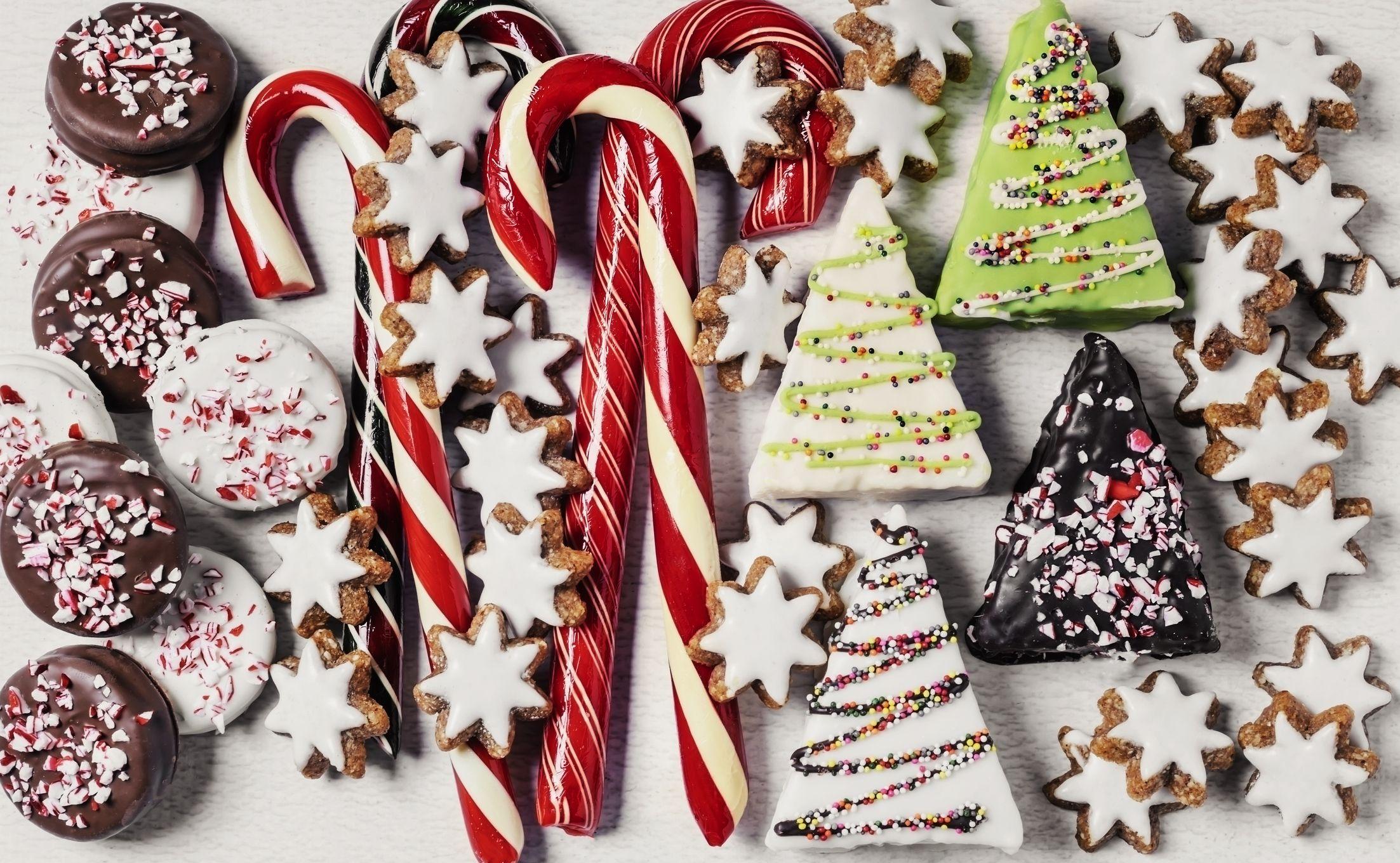 Decorazioni Natalizie Caramelle.20 Decorazioni Edibili Da Appendere All Albero Di Natale
