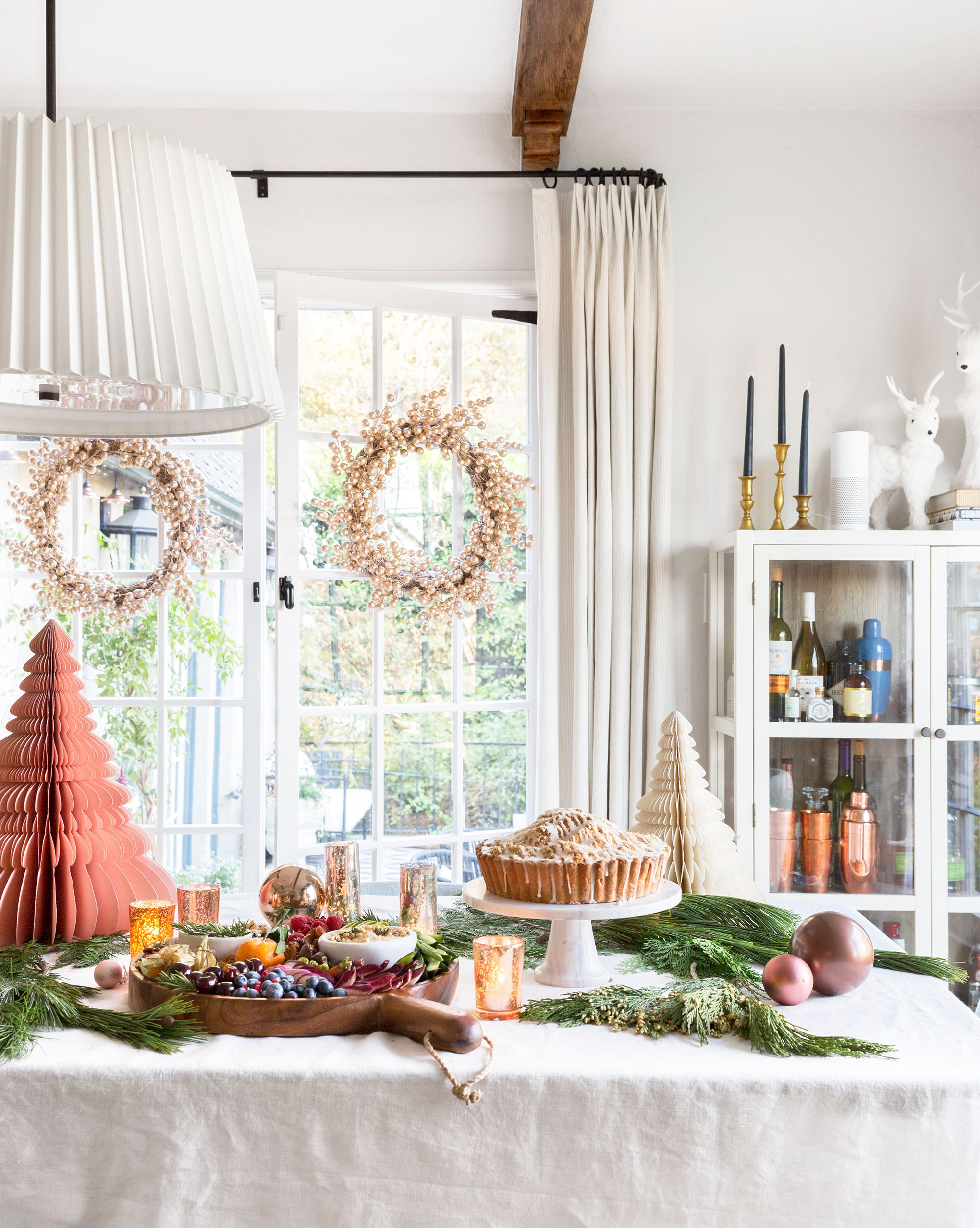 40 Christmas Table Decorations Place