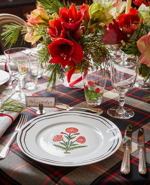 christmas party ideas alessandra branca christmas eve dinner tablesetting