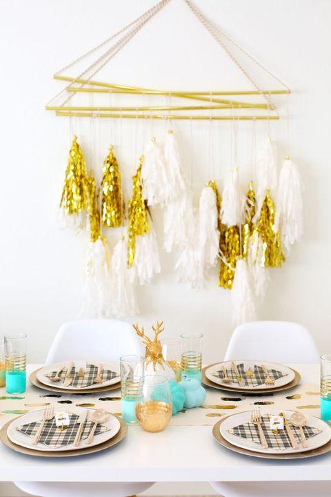 40 DIY Christmas Table Settings and Decorations ... - photo#10