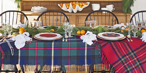 Christmas Table Settings Centerpieces
