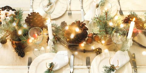 43 Best Christmas Table Settings Decorations And Centerpiece Ideas