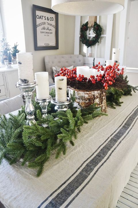 40 Best Christmas Table Settings - Decorations and ... - photo#29