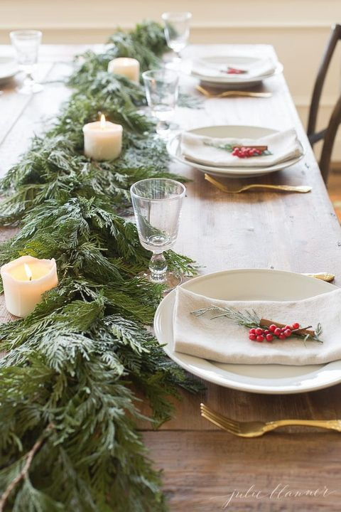 Christmas Table Settings Ideas Pictures.50 Best Christmas Table Settings Decorations And